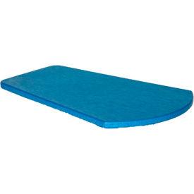 """Generations Arm Table, Blue, 24-1/2""""L x 16-1/4""""W x 1-7/8""""H"""