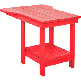 "Generations Tete A Tete Table, Red, 18""L x 14""W x 21""H"