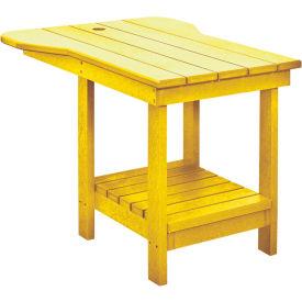 "Generations Tete A Tete Table, Yellow, 18""L x 14""W x 21""H"