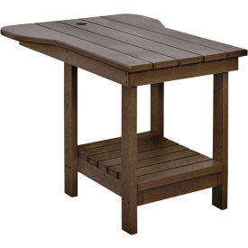 """Generations Tete A Tete Table, Chocolate, 18""""L x 14""""W x 21""""H"""