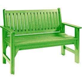 "Generations Garden Bench, Kiwi Green, 48""L x 24""W x 36""H"