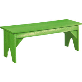 "Generations Lifestyle Outdoor Bench, Kiwi Green, 48""L x 15""W x 18""H"