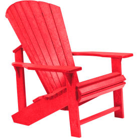 "Generations Adirondack Chair, Red, 32""L x 31""W x 40-1/2""H"