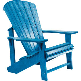 "Generations Adirondack Chair, Blue, 32""L x 31""W x 40-1/2""H"