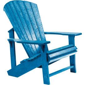 """Generations Adirondack Chair, Blue, 32""""L x 31""""W x 40-1/2""""H"""