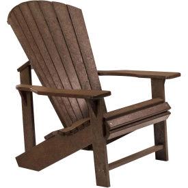 "Generations Adirondack Chair, Chocolate, 32""L x 31""W x 40-1/2""H"