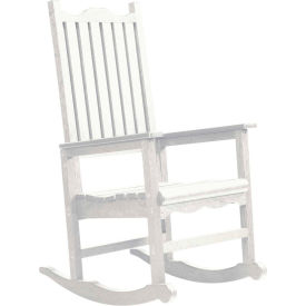 "Generations Casual Porch Rocker, White, 31""L x 25""W x 47""H"