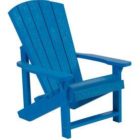"""Generations Kids Adirondack Chair, Blue, 24""""L x 20""""W x 27""""H"""