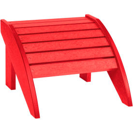 "Generations Footstool, Red, 18""L x 17""W x 12""H"