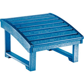 "Generations Upright Adirondack Chair Pull Out Footstool, Blue, 32""L x 22""W x 14""H"