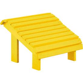 """Generations Premium Footstool, Yellow, 18""""L x 18""""W x 16""""H"""