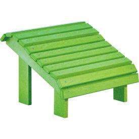 """Generations Premium Footstool, Kiwi Green, 18""""L x 18""""W x 16""""H"""