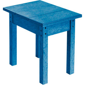 "Generations Small Side Table, Blue, 17""L x 17""W x 17""H"