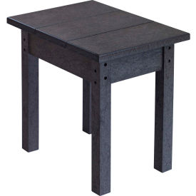 "Generations Small Side Table, Black, 17""L x 17""W x 17""H"