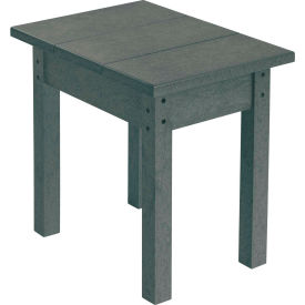 """Generations Small Side Table, Slate, 17""""L x 17""""W x 17""""H"""