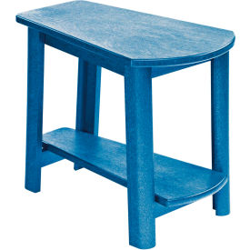 "Generations Tapered Style Accent Table, Blue, 29""L x 18-1/2""W x 19""H"