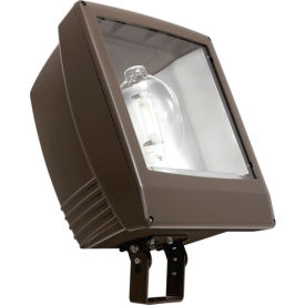 Crescent/Stonco GP5S1000MAL-8 GP Flood Light, Wide Area Use, Metal Halide, Slipfitter, 1000W