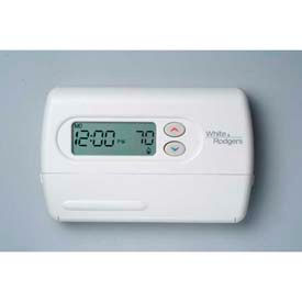 White-Rodgers™ Single Stage (1H/1C) 5+1+1 Day Programmable Digital Thermostat, 1F80-361