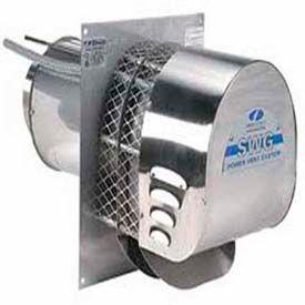 "Field Controls 4"" Power Venter- Stainless Steel 170,000 BTU SWG-4HDS"