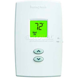 Honeywell PRO 1000  Non-Programmable Vertical Thermostat  Heat Only TH1100DV1000