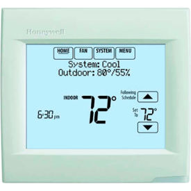 VisionPRO® 8000 Thermostat With Redlink™ 1H/1C Heat Pump or 1H/1C Conventional, White