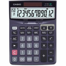 Casio DJ120D Calculator, 12-Digit LCD by