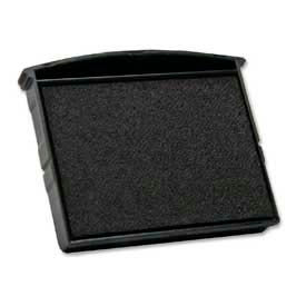 "Cosco® Self-Inking Stamp Replacement Pad, 1-3/4"" x 1-7/8"", Black"