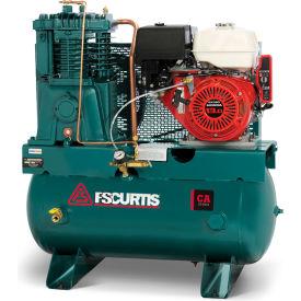 FS-Curtis FCAHEE57H3X-AXL1XX, 13 HP, Stationary Gas Comp, 30 Gallon, 175 PSI, 22 CFM, Honda,Electric