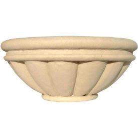 "Roman Outdoor Planter 24"", Sandstone"