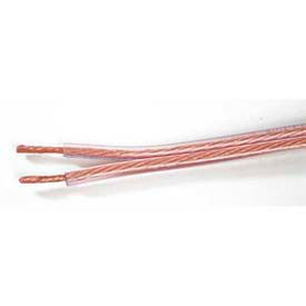 Comprehensive Bulk Audio Speaker Cable, Copper, 2 Conductor, 14 AWG, 500'