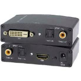 Comprehensive Video Signal Converter, DVI-D Dual Link To HDMI Converter And SPDIF Audio