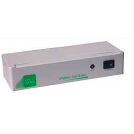 Comprehensive VGA Splitter And Distribution Amplifier,  1 PC To 4 High Resolution