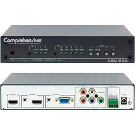 Digital Scaler, Component & VGA Video & Stereo Audio To HDMI Converter