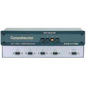 Comprehensive Switcher, 4X1 VGA/XGA, Mechanical, 750 MHz
