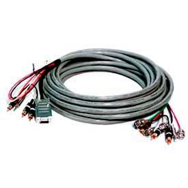 Comprehensive Connectivity Comprehensive VGA Cable, HR Pro Series, VGA W/Audio HD 15 Pin Plug To Plug Cable, 35'