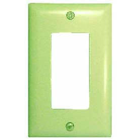 Comprehensive Wallplate Cover, Single Gang, Ivory Decora