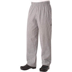Chef Works Basic Baggy Small Checkered Chef Pants, 5XL NBCP0005XL by