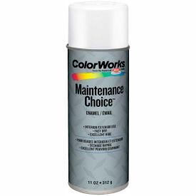 Krylon Industrial Colorworks Enamel Gloss White - CWBK01027 - Pkg Qty 6