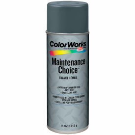 Krylon Industrial Colorworks Enamel Dark Machinery Gray - CWBK01057 - Pkg Qty 6