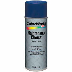Krylon Industrial Colorworks Enamel Navy Blue - CWBK01107 - Pkg Qty 6