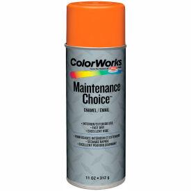 Krylon Industrial Colorworks Enamel Safety Orange - CWBK01167 - Pkg Qty 6