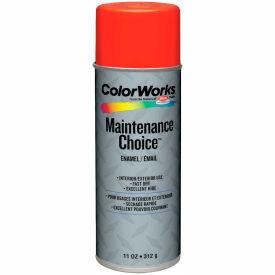 Krylon Industrial Colorworks Enamel Equipment Orange - CWBK01177 - Pkg Qty 6
