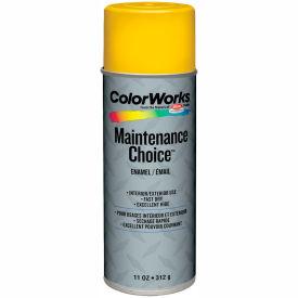 Krylon Industrial Colorworks Enamel Safety Yellow - CWBK01187 - Pkg Qty 6