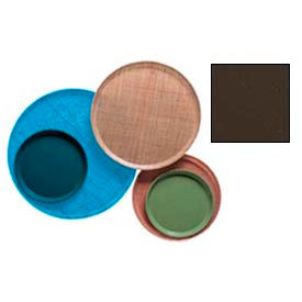 """Cambro 1000116 - Camtray 10"""" Round,  Brazil Brown - Pkg Qty 12"""