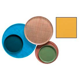 """Cambro 1000171 - Camtray 10"""" Round,  Tuscan Gold - Pkg Qty 12"""
