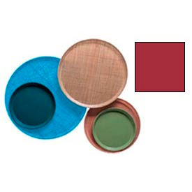 """Cambro 1000221 - Camtray 10"""" Round,  Ever Red - Pkg Qty 12"""