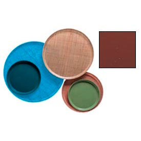 """Cambro 1000501 - Camtray 10"""" Round,  Real Rust - Pkg Qty 12"""