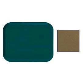 "Cambro 1014513 - Camtray 10"" x 14"" Rectangle,  Bayleaf Brown - Pkg Qty 12"