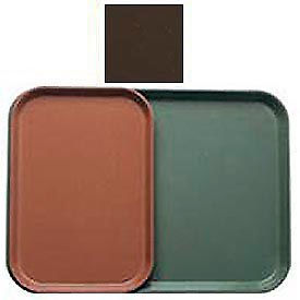 """Cambro 1015116 - Camtray 10"""" x 15"""" Rectangle,  Brazil Brown - Pkg Qty 24"""