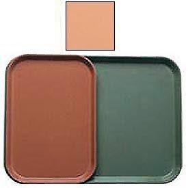 "Cambro 1015117 - Camtray 10"" x 15"" Rectangle,  Dark Peach - Pkg Qty 24"